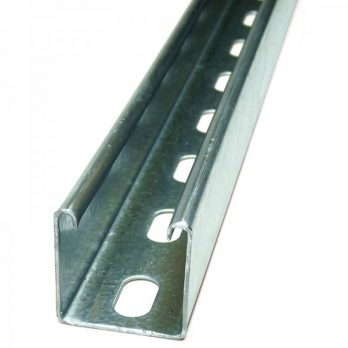 41 x 41mm Slotted Channel 3m or 6m