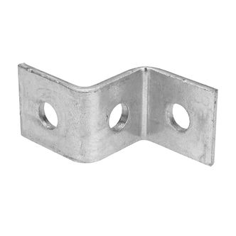 Z Bracket 40mm 3 hole bracket