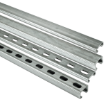 Strut channels slotted & plain