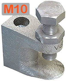 M10 Lindapter girder flange clamp