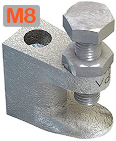 M8 Lindapter girder flange clamp