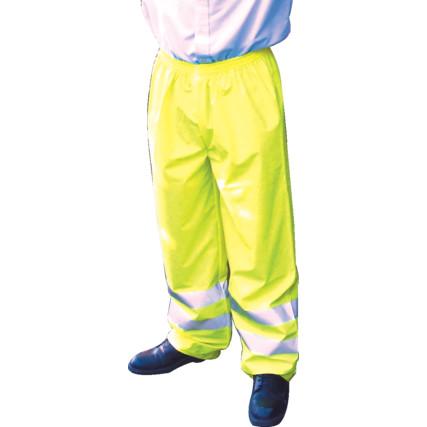 hi vis trouser yellow
