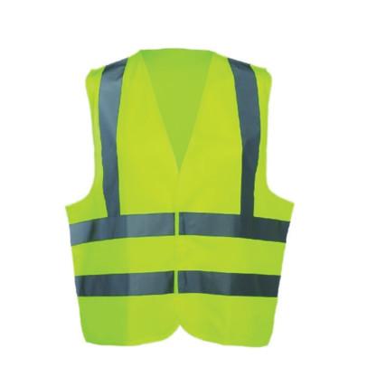 hi visibility waistcoat yellow