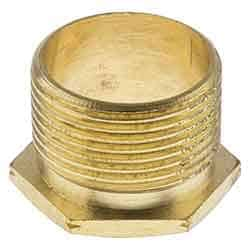 50mm lon male brass bush